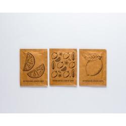Toallitas de limon papel kraft