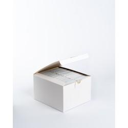 Toallitas desodorantes en sobres individuales. Caja de 50 unidades
